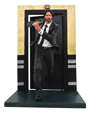 Movie Gallery 9 Inch Statue Figure John Wick - John Wick (Running)