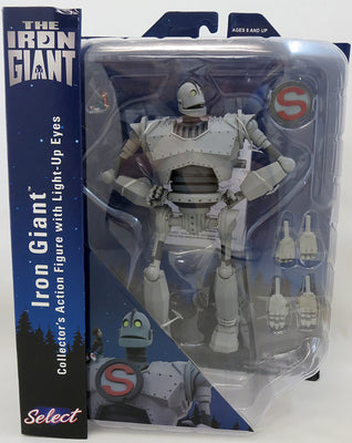 Movie Select 9 Inch Action Figure Iron Giant - Iron Giant