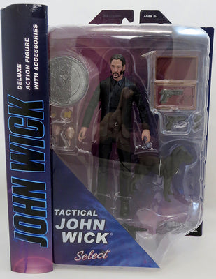 Movie Select 8 Inch Action Figure John Wick - John Wick Black Suit