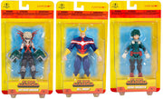My Hero Academia 5 Inch Action Figure Basic Wave 1 - Set of 3