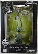 NBX Gallery 9 Inch Action Figure Nightmare Before Christmas - Jack Skellington In Oogie's Lair