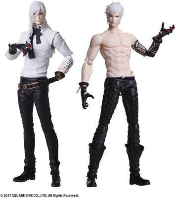 Nier Automata 6 Inch Action Figure Bring Arts - Adam and Eve