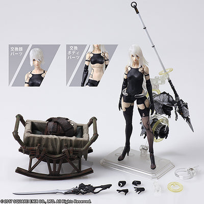 Nier Automata 6 Inch Action Figure Bring Arts - YoRHa Type A No. 2