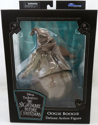 Nightmare Before Christmas Select Series 8 Inch Action Figure - Oogie Boogie