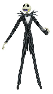 Nightmare Before Christmas 10 Inch Action Figure Silver Anniversary Series - Jack Skellington