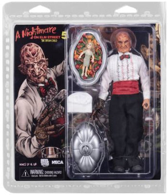 Nightmare on Elm Street 8 Inch Action Figure Clothed Series - Part 5 Chef Freddy