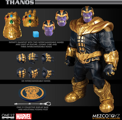 One-12 Collective 8 Inch Action Figure Avengers - Thanos