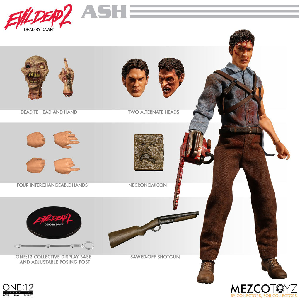 One-12 Collective 6 Inch Action Figure Evil Dead 2 Dead By Dawn - Ash Williams