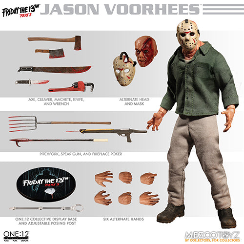 One-12 Collective 6 Inch Action FIgure Friday The 13th Part 3 - Jason Voorhees
