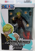 One Piece 6 Inch Action Figure Anime Heroes - Sanji