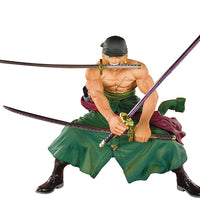 One Piece 4 Inch Static Figure Figuarts Zero - Pirate Hunter Zoro