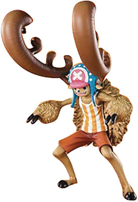 One Piece 5 Inch Static Figure Figuarts Zero - Cotton Candy Lover Chopper Horn Point Version