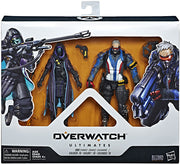 Overwatch 6 Inch Action Figure Ultimates 2-Pack Series - Ana & Solider 76