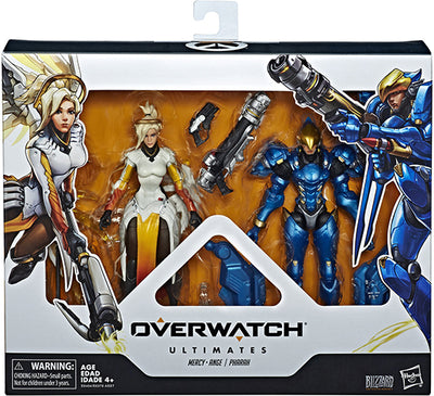 Overwatch 6 Inch Action Figure Ultimates 2-Pack Series - Mercy & Pharah