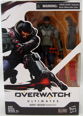Overwatch 6 Inch Action Figure Ultimates Series 1 - Reaper (Blackwatch Reyes)