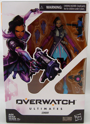 Overwatch 6 Inch Action Figure Ultimates Series 1 - Sombra