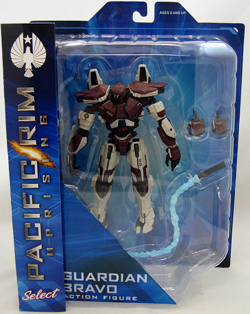 Pacific Rim Uprising 8 Inch Action Figure Series 2 - Guardian Bravo (Sub-Standard Packaging)