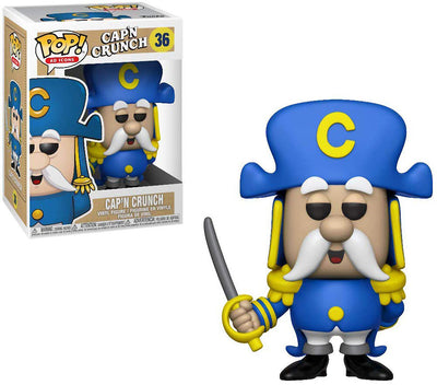 Pop Ad Icons 3.75 Inch Action Figure Cap'N Crunch - Cap'N Crunch #36