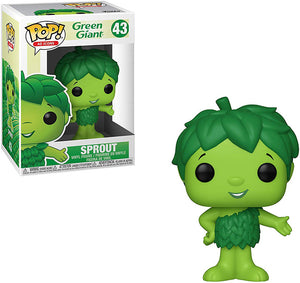 Pop Ad Icons 3.75 Inch Action Figure Green Giant - Sprout #43