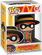 Pop Ad Icons McDonalds 3.75 Inch Action Figure - Hamburglar #87