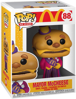 Pop Ad Icons McDonalds 3.75 Inch Action Figure - Mayor McCheese #88