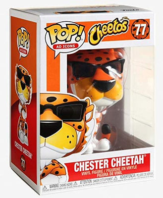 Pop Ad Icons 3.75 Inch Action Figure Pop - Chester Cheetah #77