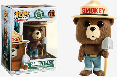 Pop Ad Icons Smokey Bear 3.75 Inch Action Figure - Smokey Bear #75