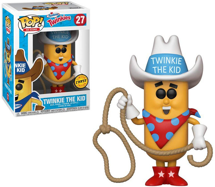Pop Ad Icons 3.75 Inch Action Figure Twinkies - Twinkie The Kid #27 Chase