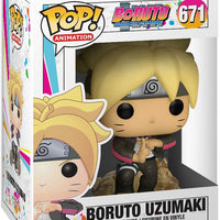 Pop Animation 3.75 Inch Action Figure Boruto - Boruto Uzumaki #671