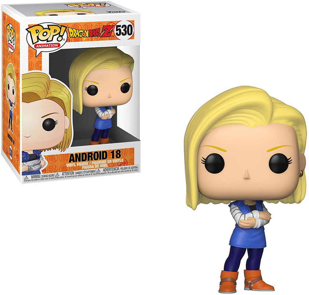 Pop Animation 3.75 Inch Action Figure Dragonball - Android 18 #530