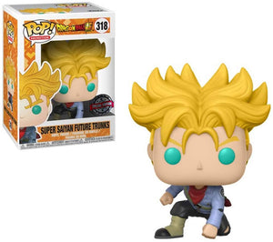 Pop Animation 3.75 Inch Action Figure Dragonball - Super Saiyan Future Trunks #318 Exclusive