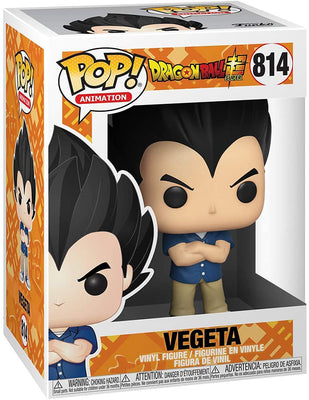 Pop Animation Dragonball Super 3.75 Inch Action Figure - Vegeta Casual Clothes #814