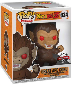 Pop Animation 3.75 Inch Action Figure Dragonball Z - Great Ape Goku #624