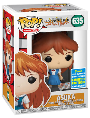 Pop Animation 3.75 Inch Action Figure Evangelion - Asuka #635 Exclusive