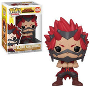 Pop Animation 3.75 Inch Action Figure My Hero Academia - Eljiro Kirishima #606