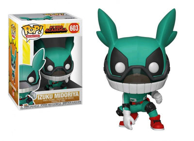 Pop Animation 3.75 Inch Action Figure My Hero Academia - Izuku Midoriya Masked #603