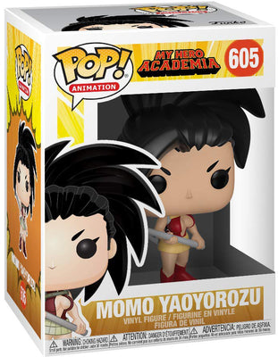 Pop Animation 3.75 Inch Action Figure My Hero Academia - Momo Yaoyorozu #605