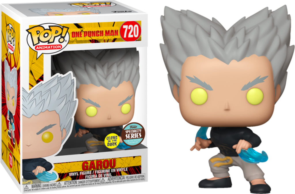 Pop Animation One Punch Man 3.75 Inch Action Figure Exclusive - Garou #720