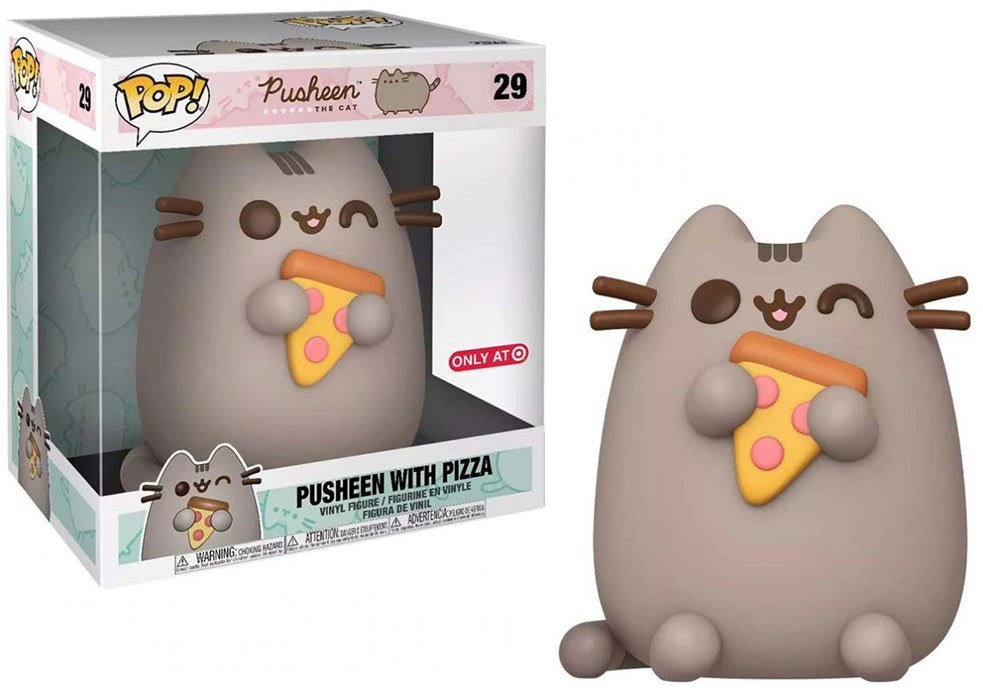Pop Animation Pusheen The Cat 10 Inch Action Figure Giant Series Exclusive - Pusheen with Pizza #29