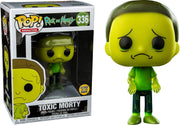 Pop Animation 3.75 Inch Action Figure Rick and Morty - Toxic Morty #336 Exclusive