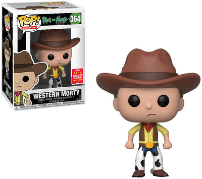 Pop Animation 3.75 Inch Action Figure Rick and Morty - Western Morty #364 Exclusive