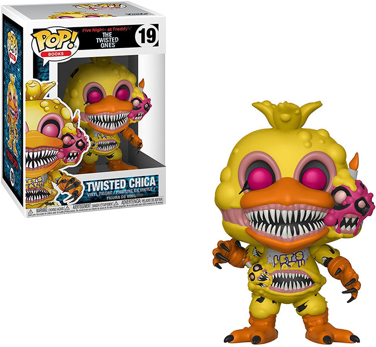 Pop Books Five Nights at Freddy's 3.75 Inch Action Figure - Twisted Chica #19