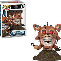 Pop Books Five Nights at Freddy's 3.75 Inch Action Figure - Twisted Foxy #18