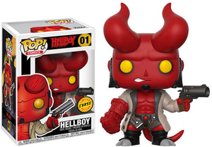 Pop Comics 3.75 Inch Action Figure Hellboy - Hellboy #01 Chase