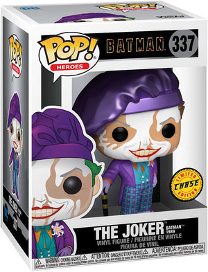 Pop DC Heroes Batman 1989 3.75 Inch Action Figure Exclusive - The Joker #337 Chase