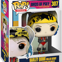 Pop DC Heroes Birds Of Prey 3.75 Inch Action Figure - Harley Quinn Roller Derby #307