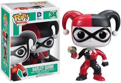 Pop DC Heroes 3.75 Inch Action Figure DC Universe - Harley Quinn #34