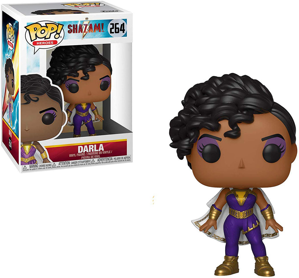 Pop DC Heroes 3.75 Inch Action Figure Shazam - Darla #264