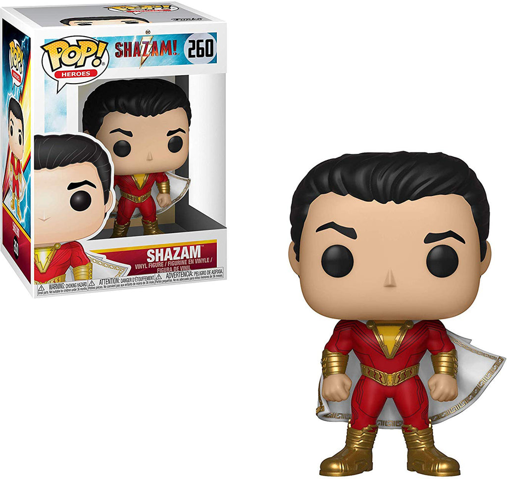 Pop DC Heroes 3.75 Inch Action Figure Shazam - Shazam #260