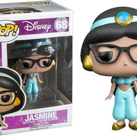 Pop Disney 3.75 Inch Action Figure Aladdin - Nerd Jasmine #68 Exclusive